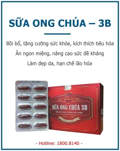 sua ong chua 3b thephaco