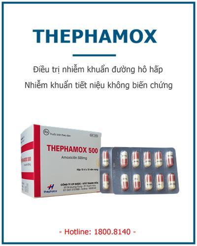 thephamox nhiem khuan duong ho hap